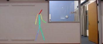 آموزش هوش مصنوعی جهت تشخیص حرکات بدن از پشت موانع